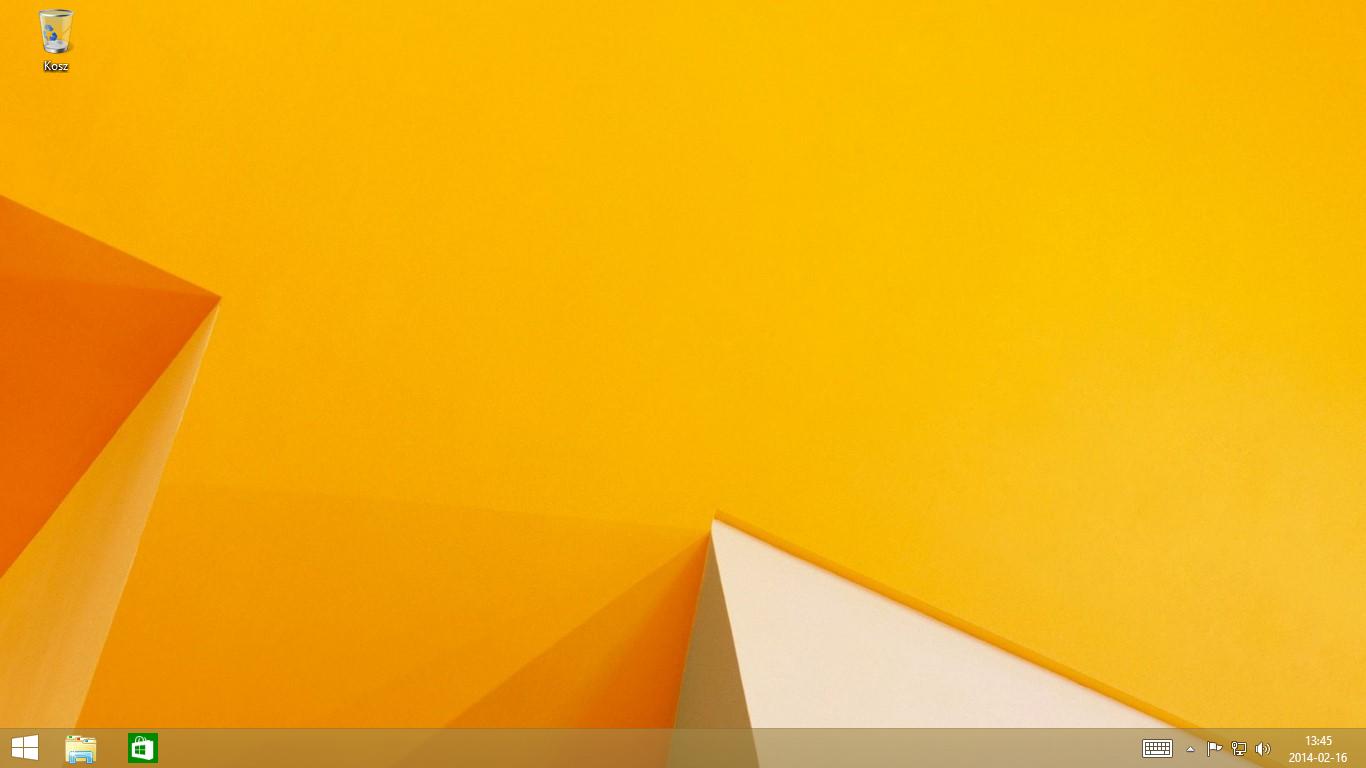 Aplikacje interfejsu Modern przypinane do paska zadań