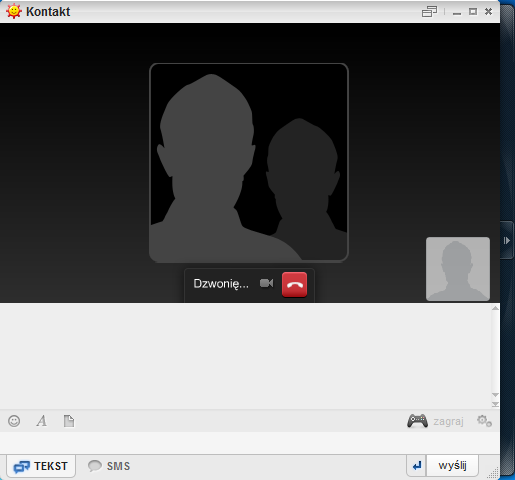 Komunikator GG - rozmowa audio
