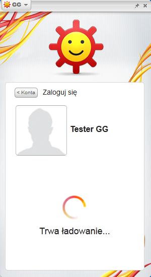 Komunikator GG - logowanie do komunikatora