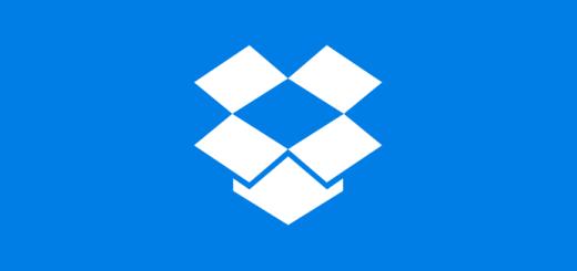 Logo programu Dropbox
