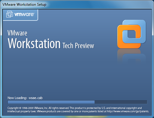 Instalator VMware Workstation Tech Preview