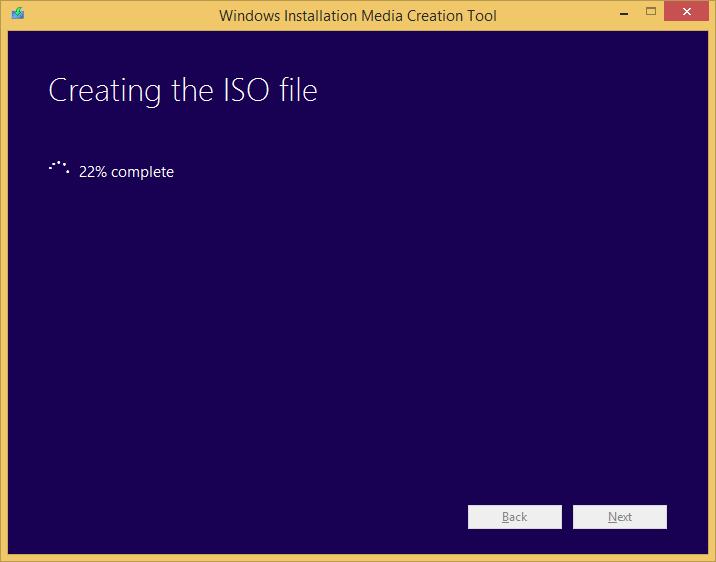 Tworzenie nośnika instalacyjnego Windows 8.1 - tworzenie obrazu ISO