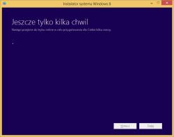 Tworzenie nośnika instalacyjnego Windows 8 - weryfikacja klucza produktu w trybie online