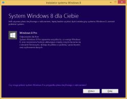 Tworzenie nośnika instalacyjnego Windows 8 - informacje o edycji systemu