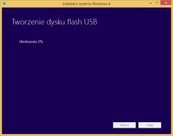 Tworzenie nośnika instalacyjnego Windows 8 - kopiowanie plików instalatora na pamięć USB