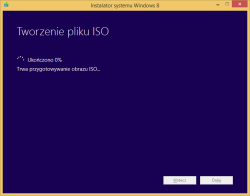 Tworzenie nośnika instalacyjnego Windows 8 - przygotowywanie pliku ISO