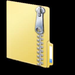 Ikona archiwum ZIP